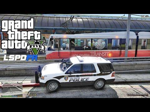 GTA 5 LSPDFR 0.3.1 - EPiSODE 386 - TRANSIT POLICE PATROL (GTA 5 REAL LIFE POLICE MOD) K9