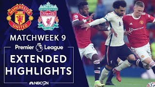 Manchester United v. Liverpool | PREMIER LEAGUE HIGHLIGHTS | 10/24/2021 | NBC Sports