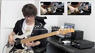 【NAOKI KOBAYASHI】PROJECT B.[4th Online] MEMBER'S DEMONSTRATION【BASS SOLO】