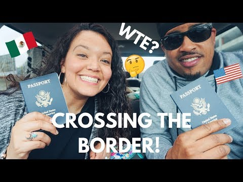 CROSSING the San Ysidro MÉXICO/USA Border: TIPS on What TO DO, What NOT TO DO & What To EXPECT!