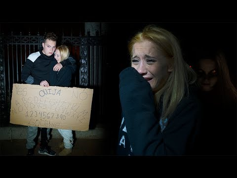 Thumbnail: THE SCARIEST NIGHT OF MY LIFE (OUIJA BOARD IN CEMETERY)