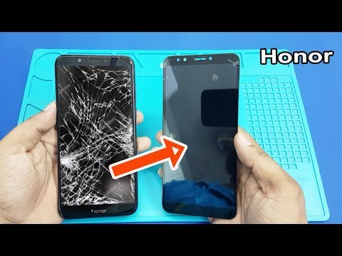 Honor 7C LCD Screen and Digitizer Replacement || How to Replace Honor 7C Broken Screen