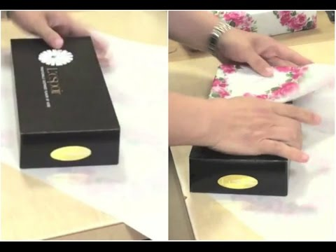 Gift Wrapping Hack, A New Way to Wrap a Gift in 15 Seconds Flat fragman