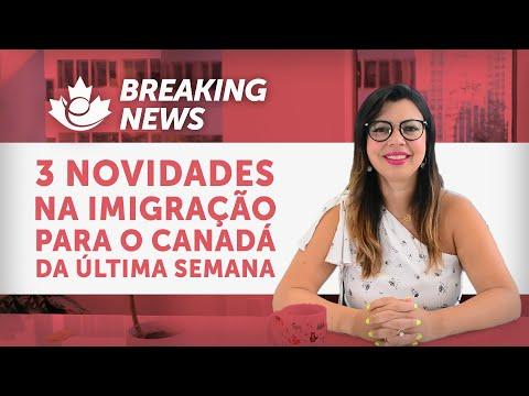 3 GRANDES NOVIDADES DA IMIGRAÇÃO PARA O CANADÁ DA ÚLTIMA SEMANA! BREAKING NEWS!!