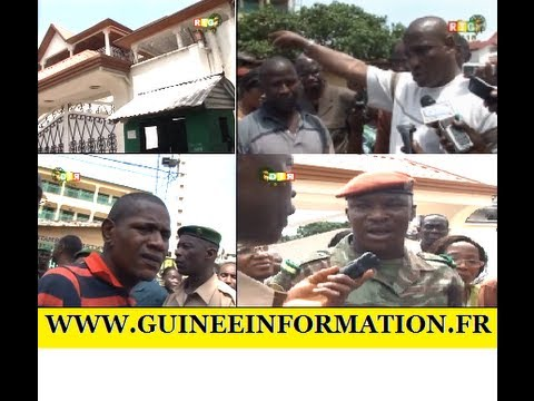 Le transport judiciaire au domicile du professeur Alpha Condé: AOB confronté aux gardes