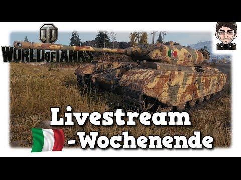 World of Tanks - Livestream Aufzeichnung italienisches Wochenende [deutsch]