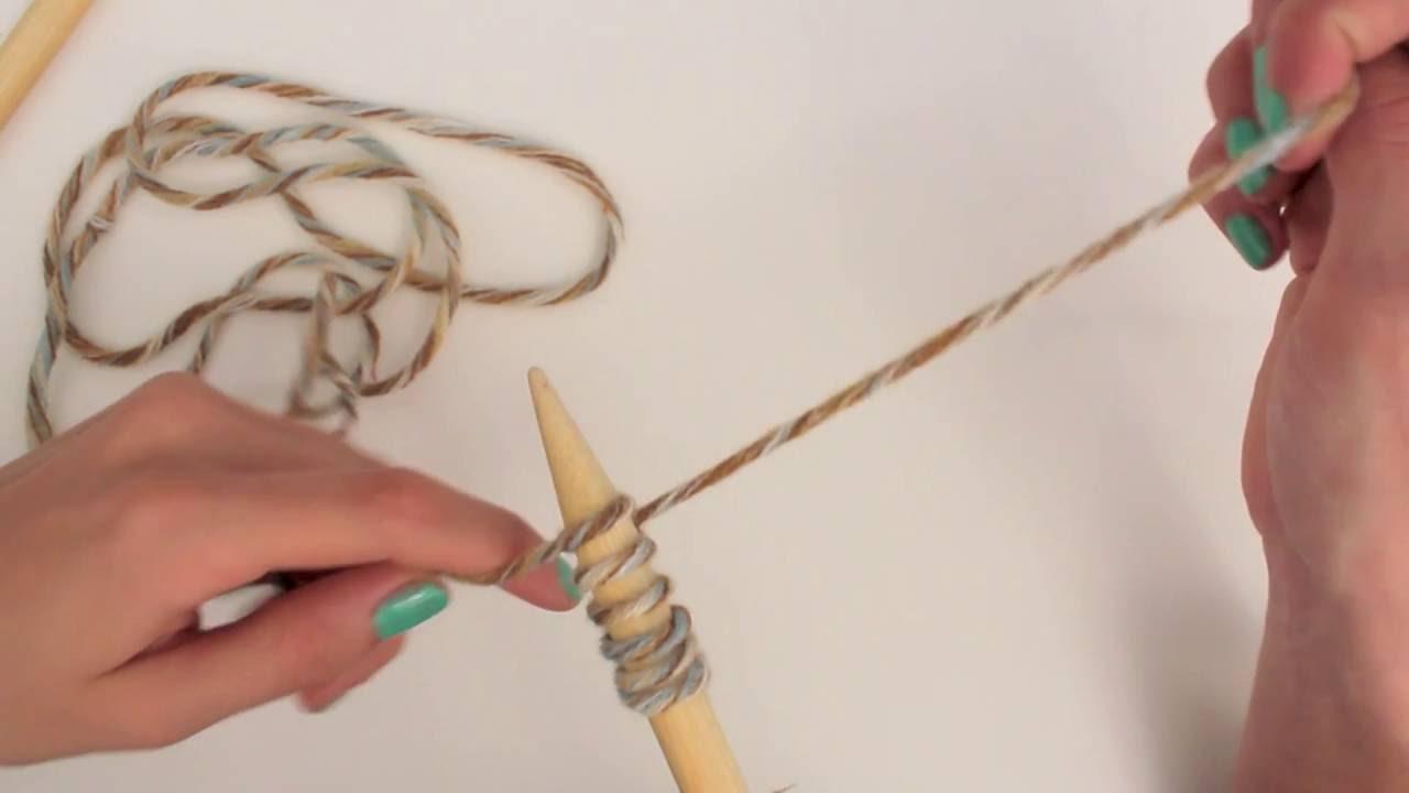 Comment demarrer un tricot
