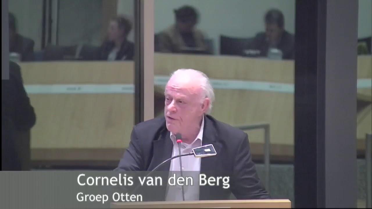 Cornelis van den Berg on fire