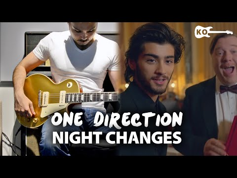 One Direction - Night Changes - Electric Guitar Cover by Kfir Ochaion