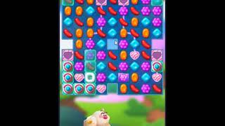 Candy Crush Friends Saga Level 166 - NO BOOSTERS 👩👧👦   SKILLGAMING ✔️