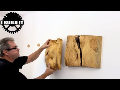 About The Natural Wood Wall Sculpture