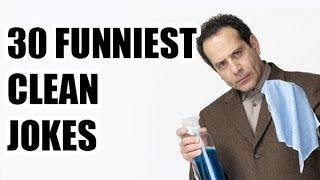 30 Funniest Clean Jokes