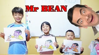 Hunter Kids Go To School Learn Colors Mr.Been | Classroom Funny Nursery Rhymes