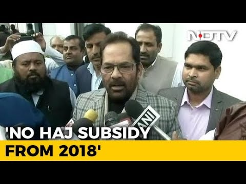 Government ends Haj subsidy, will use funds for educating girls