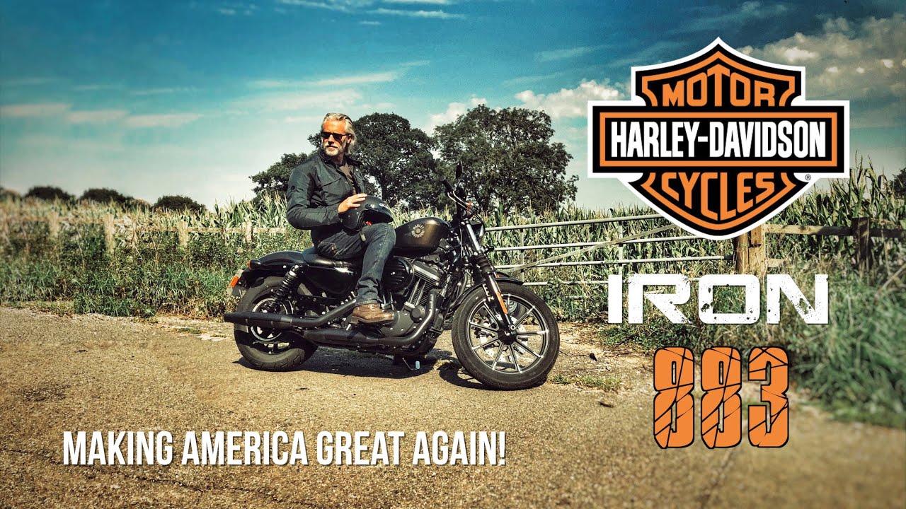 Harley Davidson Iron 883 Making America Great Again