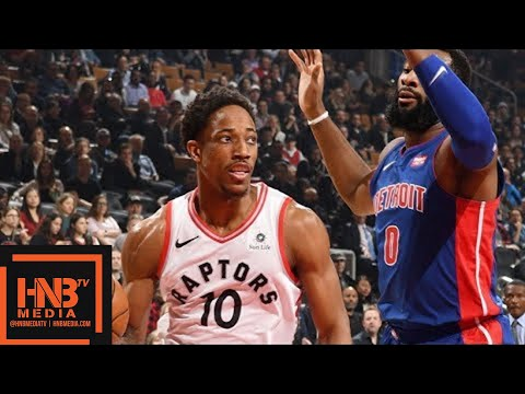 4fa075f8cb7f Detroit Pistons vs Toronto Raptors Full Game Highlights   Feb 26   2017-18  NBA Season