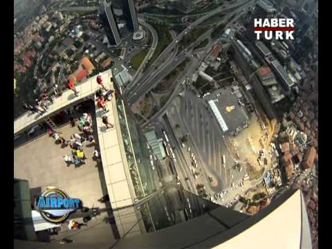 Base Jumps from İstanbul Sapphire Building - Habertürk / Airport