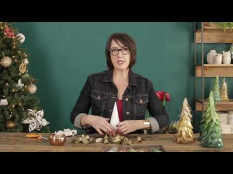 How to Make Paper Cone Trees with Lia Griffith