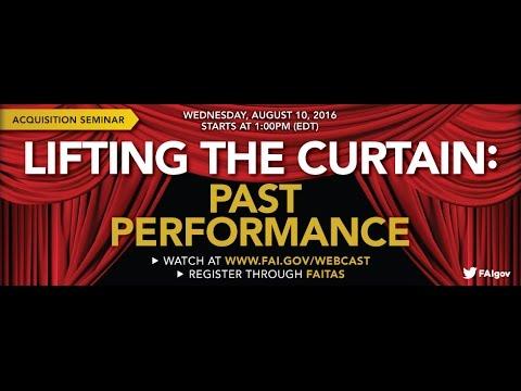 Past Performance Final Archive