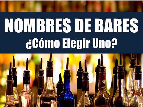 Como Elegir El Nombre Para Un Bar: Curso Online