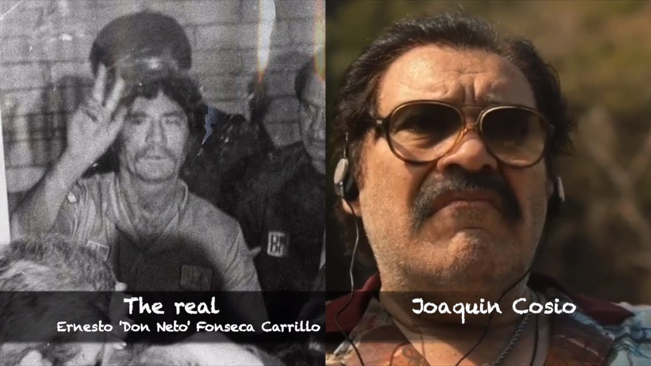 Download Narcos | The REAL people from Narcos Mexico | Cast vs Real life