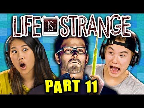 NOWHERE TO HIDE!!!!!! | LIFE IS STRANGE - Part 11 React: Gaming thumbnail