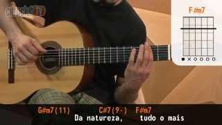 Sina - Djavan (aula de violão completa)
