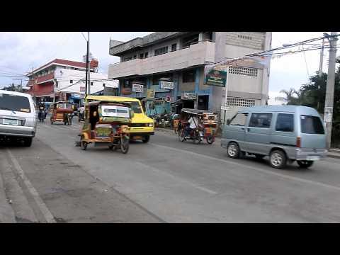 A street scene in Zamboanga City, Philippines
