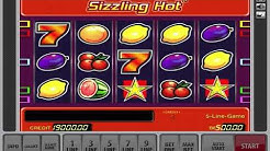 Risk Game On The Sizzling Hot Slot Machine By Novomatic