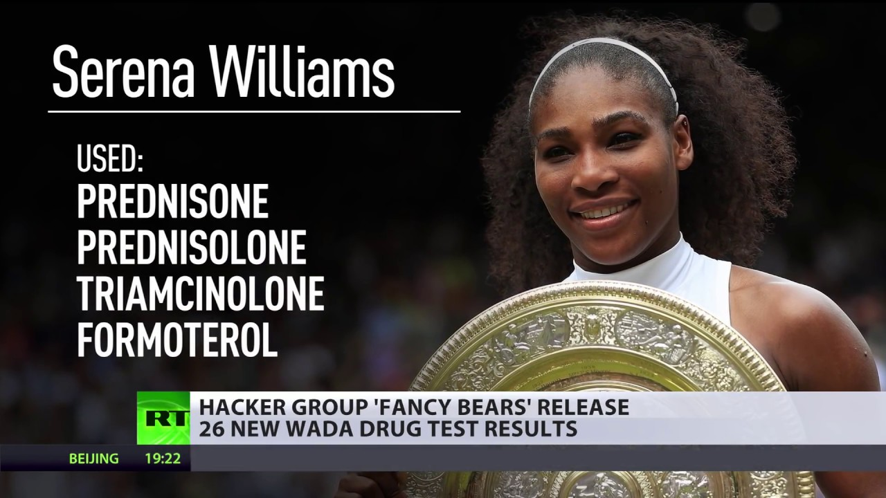 VENUS, SERENA WILLIAMS, OTHER SPORT ICONS EXPOSED USING DRUGS & STEROIDS  WITH WADA BLESSING!