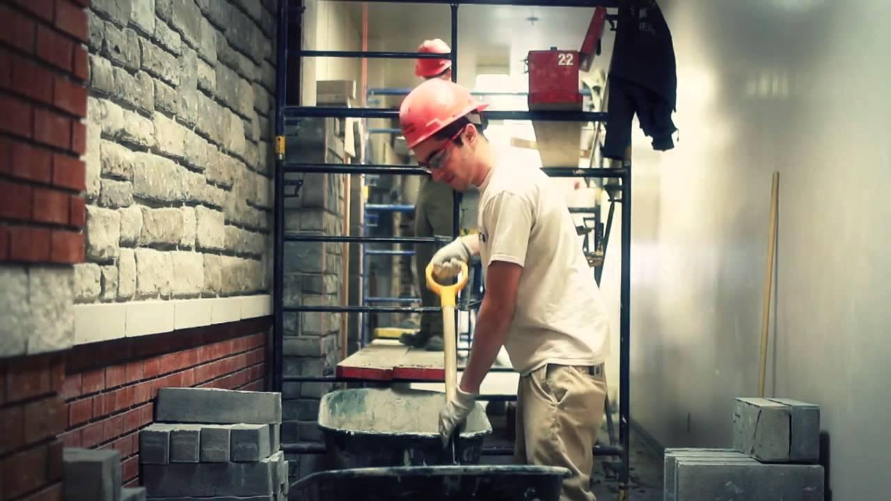 Briquetage-maçonnerie, une formation offerte par le Centre de formation professionnelle Qualitech