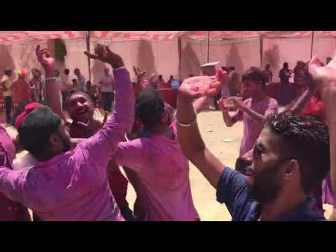 Holi dance party korba chattisgarh