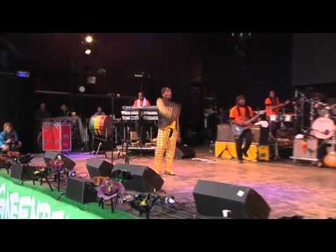 Jimmy Cliff at Glastonbury 2011 singing We Don't Want Another Vietnam in Afghanistan