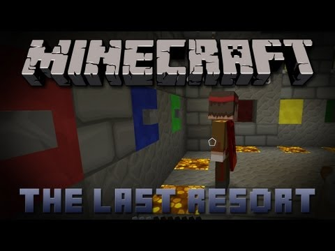 YouTubers vs. Simple Puzzles (Minecraft: The Last Resort)