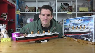 Spoiler: Die Titanic geht unter! Cobi® 1928 Historical Collection Executive Edition Maßstab 1:450