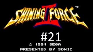Shining Force 2 Walkthrough (21) The Caravan, Rick & The Elven Town