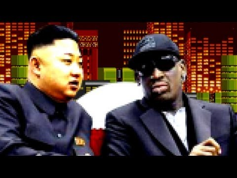 Rodman and Kim's North Korean Basketball Video Game