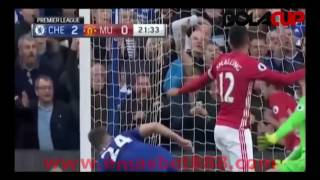 Cuplikan Gol Chelsea 4 - 0 Manchester United All Goals Premier League | 23/10/16