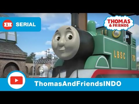 Thomas & Friends Indonesia: Thomas Berwarna Hijau