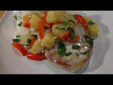 Pineapple Pepper Pork Chops - Gluten Free Recipe
