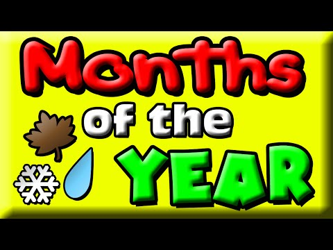 Months of the Year for Kids  12 Months  Months Ba  Months Children  Preschool Learning