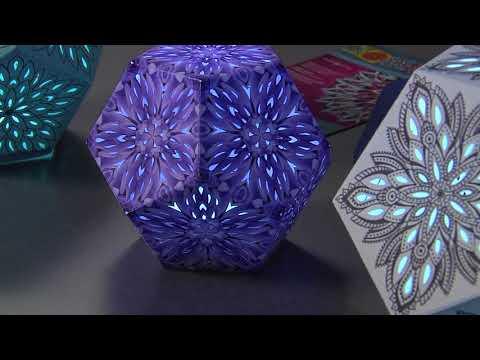 Create a Paper Kaleidoscope Lantern Using the Brother ScanNCut - Joe Rotella, Scrapbook Soup TV