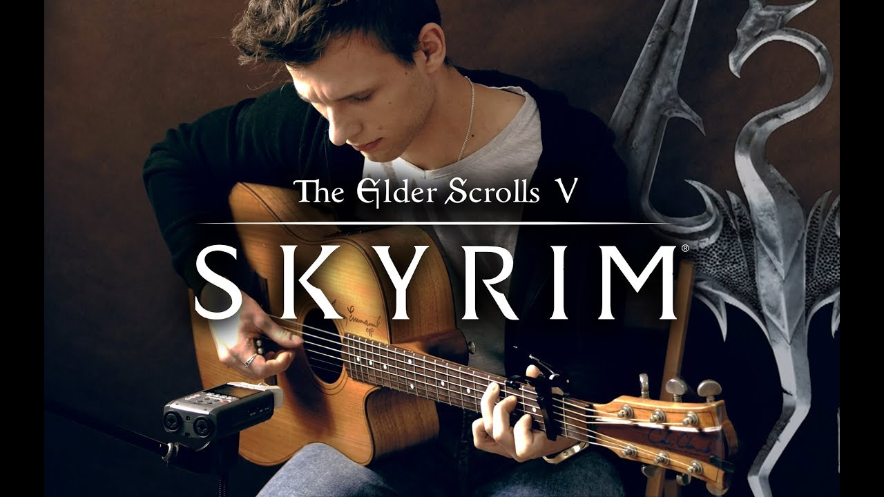 Skyrim The Dragonborn Comes Piotr Szumlas Fingerstyle Guitar