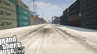 GTA 5 PC - SNOW IN LOS SANTOS MOD!