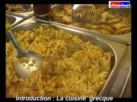 La cuisine grecque la cocina griega youtube - Cuisine grecque traditionnelle ...