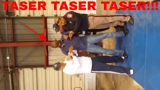 My EMBARRASSING Foot Pursuit **taser footage**