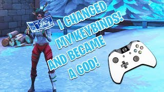 I TURNED INTO A FORTNITE GOD WITH THESE NEW KEYBINDS!