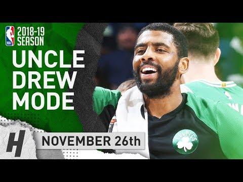 Kyrie Irving NASTY Highlights Celtics vs Pelicans 2018.11.26 - 26 Pts, 10 Assists!