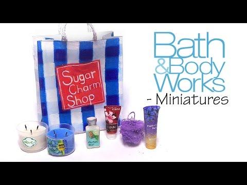Miniature Bath And Body Works - Polymer Clay Tutorial