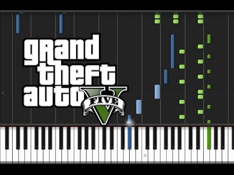 GTA 5 - Main Title Theme [Piano Tutorial] (♫)